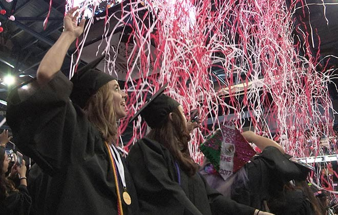 700 Grads Celebrate at ACC Winter Commencement