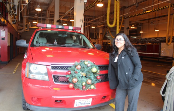 ACC-Long Beach Donates 119 Toys for Firefighter's 'Spark of Love' Program Galley