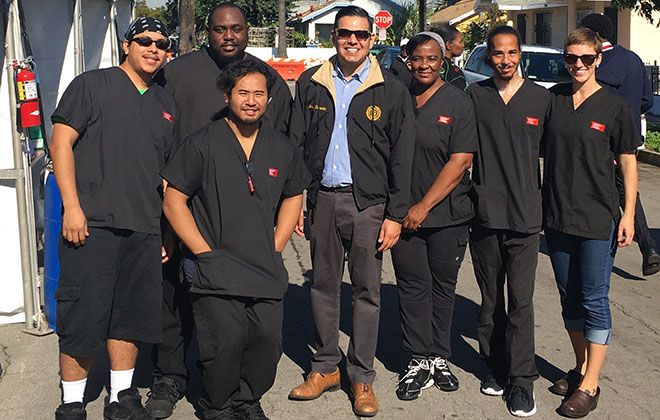 ACC-Long Beach Students Meet Mayor at 2017 Martin Luther King Jr. Day Parade Galley