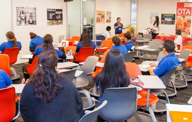 Students and Community Learn about Occupational Therapy at ACC-OC Galley