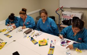 ACC-Los Angeles Student Services Adds Some Color to Busy Day at School Galley