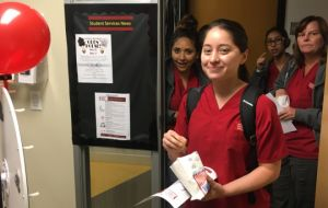 200 Students 'Pop' Into ACC-Los Angeles Student Services Open House<br> Galley