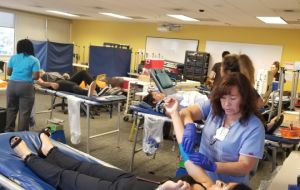 Nearly 170 ACC Students Roll Up Their Sleeves on World Blood Donor Day 2017<br> Galley