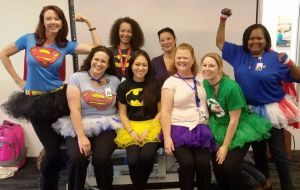 ACC-OC's OTA Students Make Heroic Effort For Occupational Therapy Month Galley