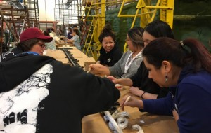 OTA Program Volunteers at Rose Parade Galley