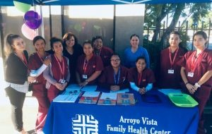 ACC-Los Angeles MA Students Volunteer at Arroyo Vista Family Health Center Event