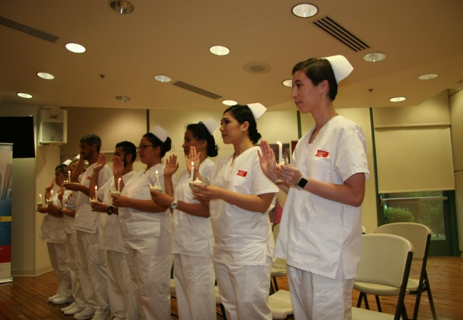 ACC-OC Celebrates 10 New Vocational Nurses Entering Clinical Phase of School