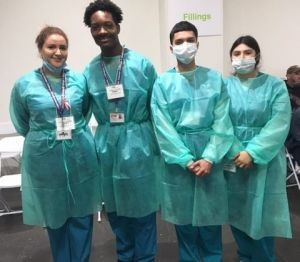 ACC-LA Dental Assisting Students Volunteer at Care Harbor Health Clinic