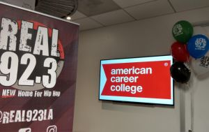 ACC-Los Angeles Visits Real 92.3 Radio to Kick Off 'Cruz Cares' School Supply Drive Gallery
