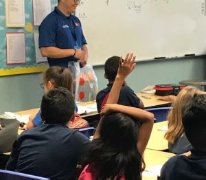 ACC-OC OTA Students Visit Anaheim School for Backpack Awareness Day Gallery