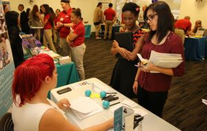 ACC-OC Students Shower Recruiters with Resumes at Spring Rehab Career Fair Galley