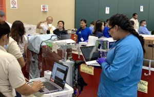 ACC-OC Dental Assisting Students Learn Valuable Lessons at VPASC Health Fair  Gallery