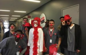 ACC Students Raise More Than $1,000 in Support of National Red Nose Day Gallery