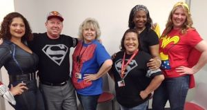 ACC-OC's OTA Students Make Heroic Effort For Occupational Therapy Month Gallery