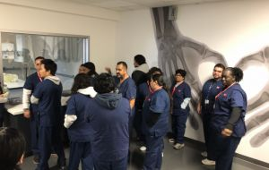 ACC-LA Rad Tech Lab Tour Exposes MBC Cohort To Understanding Hospital Role Gallery