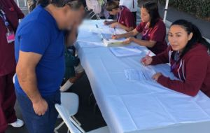 ACC-LA Medical Assistants Help Fight Flu Season at Arroyo Vista Health Clinic Gallery
