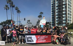 ACC-Long Beach Marches In Pride Parade Galley