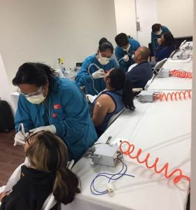 ACC-Ontario Dental Assisting Students Perform Polishings at Mexican Consulate Gallery