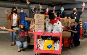 ACC-LA Canned Food Drive Delivers More Than 100 Boxes To Neighborhood Church Gallery